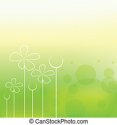весна, задний план, красивая