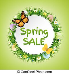 весна, плакат