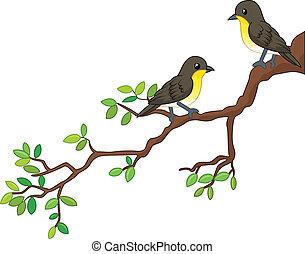весна, birds, два, филиал, песня