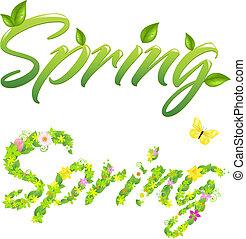 весна, words