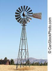 ветряная мельница, сельхозугодий