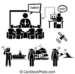 видео, бизнес, conferencing