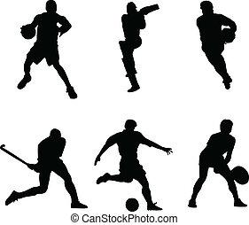 виды спорта, мяч