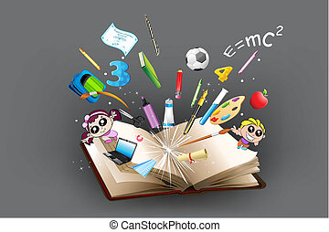 вне, объект, образование, книга, приход