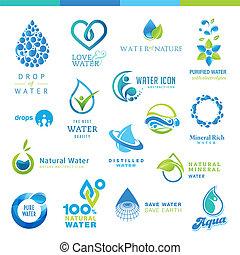 воды, задавать, icons