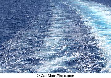 воды, лазурь, задний план, море, пульсация, поверхность