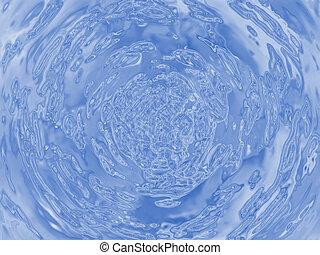 воды, пульсация, иллюстрация