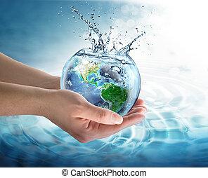 воды, сохранение, планета