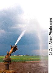 воды, спрей, сельское хозяйство