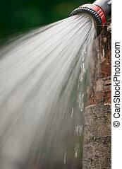 воды, droplets, разбрызгиватель