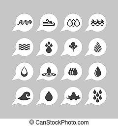 воды, icons