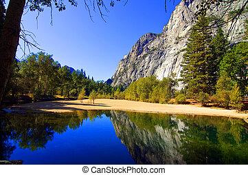 воды, mountains, на открытом воздухе, пейзаж, природа