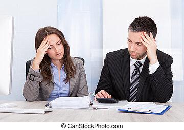 волновался, финансы, расчета, businesspeople