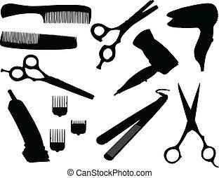 волосы, оборудование