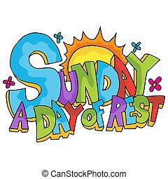 воскресенье, день, отдых