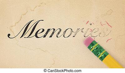 воспоминания, erasing