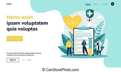 врач, страхование, здоровье, patients, реклама