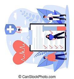 врач, страхование, реклама, patients, здоровье