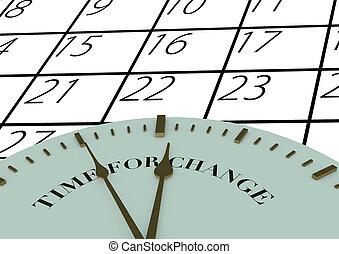 время, изменение, часы