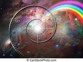 время, пространство
