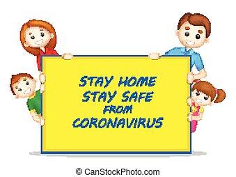 вспышка, смертоносный, coronavirus, предотвращение, оставаться, эпидемия, задний план, главная, медицинская, показ, роман, 19, безопасно