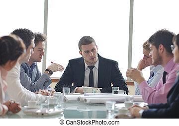 встреча, архитектор, бизнес, команда