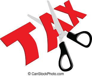 высокая, scissors, порез, недобросовестный, taxes