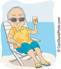 выход на пенсию, отпуск