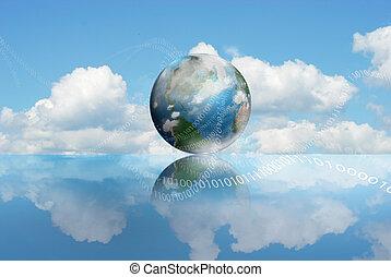вычисления, облако, технологии