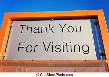 вы, спасибо, visiting