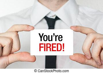 вы, fired, карта