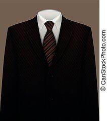 галстук, задний план, костюм