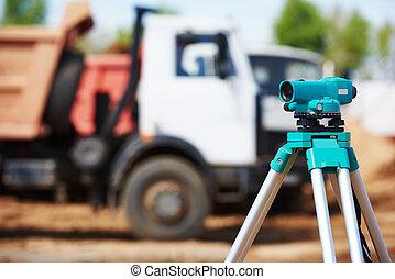 геодезист, строительство, сайт, оборудование