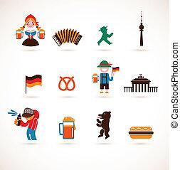 германия, коллекция, icons