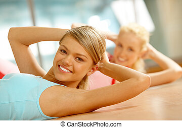 гимнастический зал, фитнес