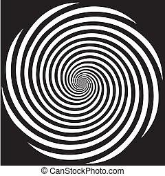 гипноз, дизайн, спираль, шаблон