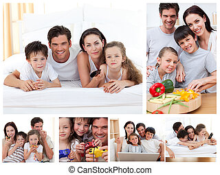 главная, коллаж, вместе, расходы, время, семья