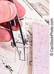 главная, рисование, архитектор, fingers, новый
