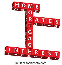 главная, rates, ипотека, интерес