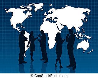 глобальный, бизнес