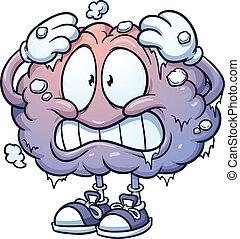 головной мозг, замерзать