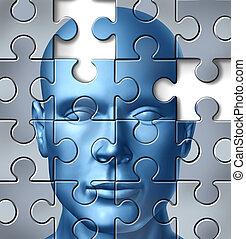 головной мозг, медицинская, человек, исследование