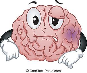 головной мозг, талисман