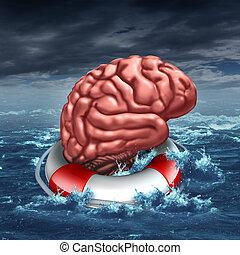 головной мозг, экономия, ваш