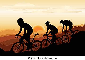 гора, biking