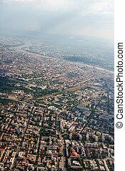 городской, самолет, разработка, budapest., посмотреть