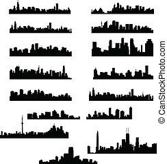 город, skylines