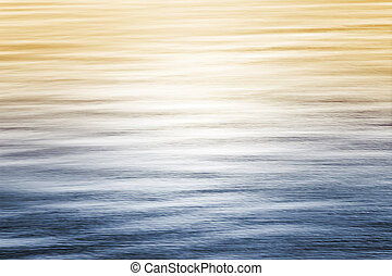 градиент, океан, reflections