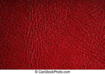гранж, кожа, крупным планом, задний план, textured, красный