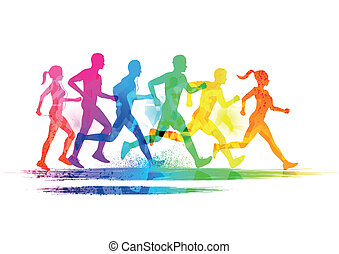 группа, runners